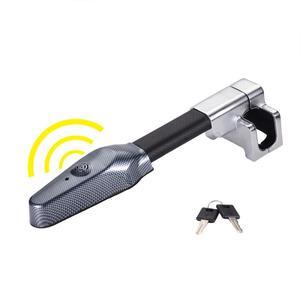 Car Steering Wheel Lock Universal Security Car Anti Theft Safety Alarm Lock Retractable Anti Theft Protection T-Locks