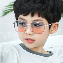 2020 New Kids Boys Girls Fashion Square Sunglasses Children'