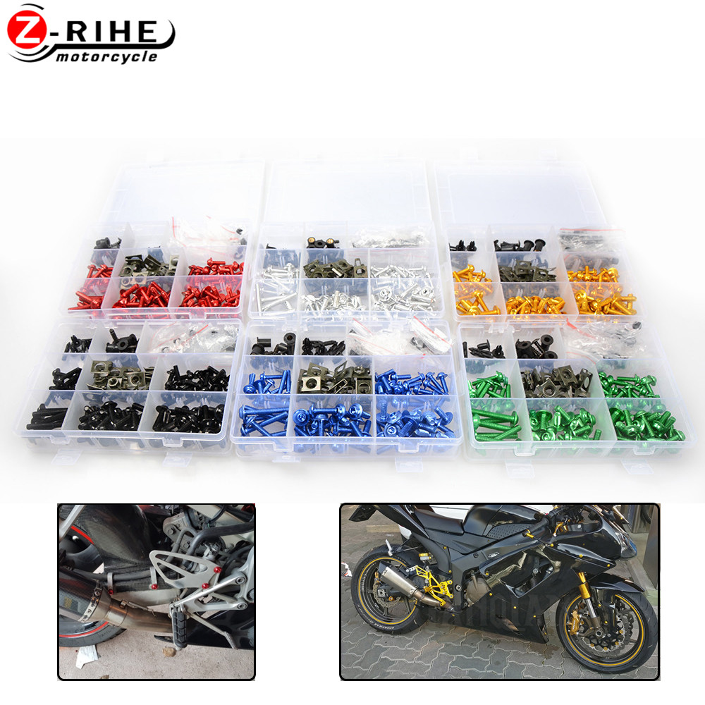 Universal Aluminum Motorcycle accessories Fairing Bolt Screw Fastener Fixation For HONDA NM4 Elite <font><b>80</b></font> Big Ruckus Metropolitan <font><b>50</b></font> image