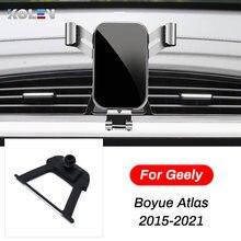 Автомобильный мобильный телефон держатель для geely atlas boyue