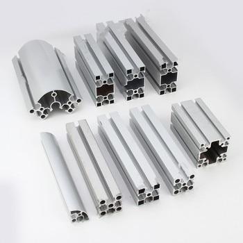 2pcs/lot 3030 Aluminum Profile European Standard Anodized Linear Rail Aluminum Profile 3030 Extrusion 3030 CNC 3D Printer Parts transkoot 20pcs aluminum gusset plate angle 1515 bracket for aluminum extrusion profile 1515 series for 3d printer