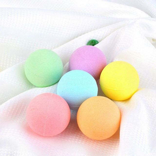 6pcs Deep Bath Salt Body Oil Moisturizing Bath Ball Natural Bubble Bath Salt Ball 5