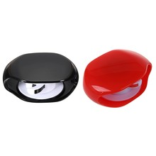 2Pcs Automatic Roll Earphone Headset Headphone Cable Cord Winder Headphones Storage, Red & Black(China)