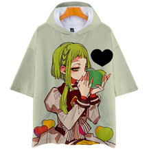 2020 Fashion Anime Wc-Gebonden Jibaku Shounen Hanako-Kun Cosplay Kostuums Nene Yashiro T-shirt 3D Print Grappige Kostuums t-shirts(China)