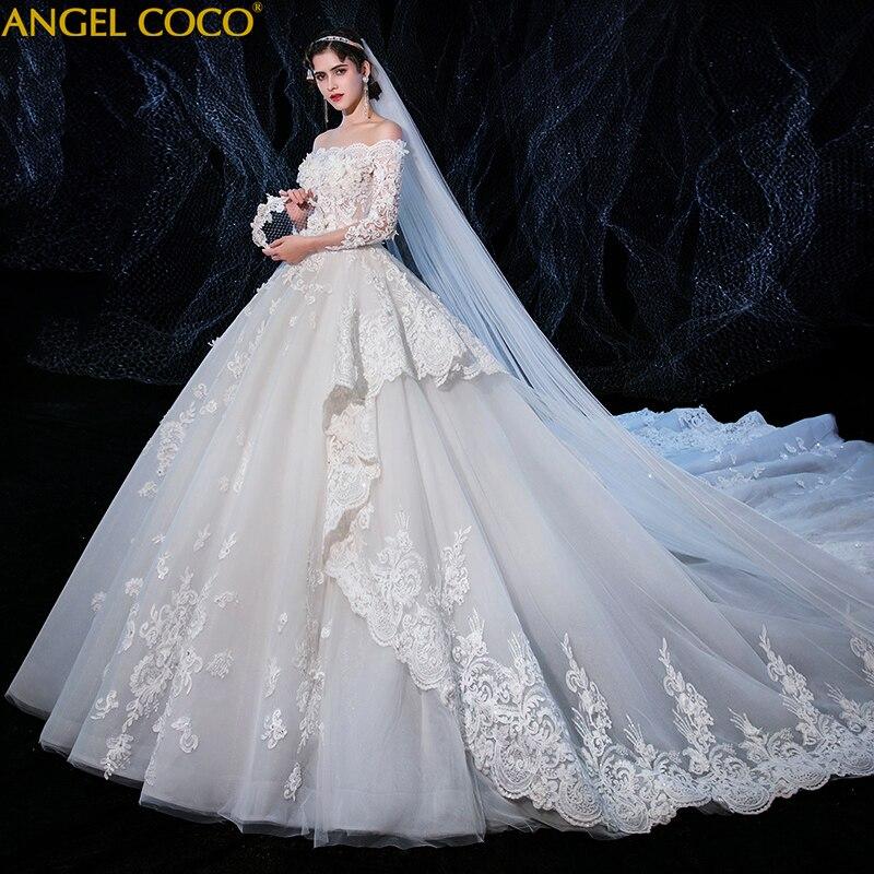 Luxury Lace Pregnancy Clothes Maternity Wedding Dresses 150cm Long Train Sweetheart Elegant Plus Size Vestido De Noiva Bride Buy At The Price Of 318 40 In Aliexpress Com Imall Com