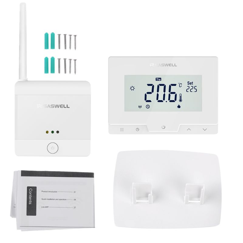 WiFi Thermostat Gas Boiler Water Heating Room Temperature Controller Voice Control With Alexa GoogIe Home