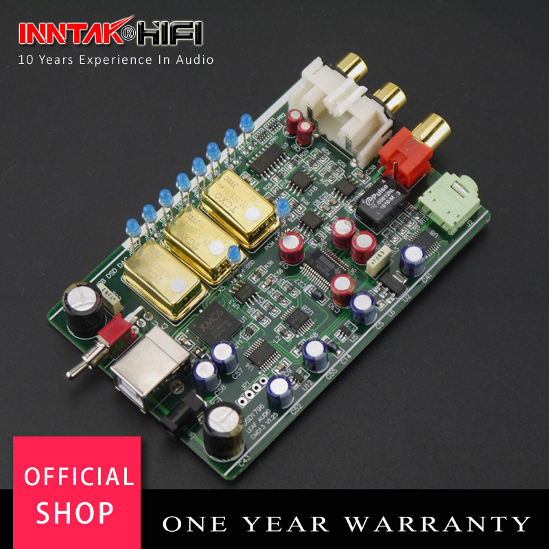 Flagship ES9028 ES9028PRO 32bit 384K DSD DAC XLR RCA Out RC,Optional Amanero USB