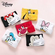 Disney Cartoon Cute Plush Wallet Girls Large Capacity Wash Storage Cosmetic Bag Mickey Minnie Coin Purse Minnie Mouse Wallet