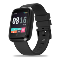SULEIYI New Crystal 2 Smartwatch IP67 Waterproof Wearable Device Heart Rate Display Smart Watch For Android IOS reloj inteligent