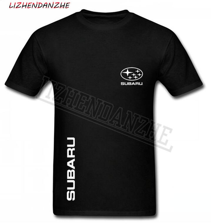 Subaru Men's T-shirt Logo, High-quality Cotton Car T Shirt, Men's AUTO Apparel Short-sleeved Tshirt Tees Fashion T-shirt AAA+53