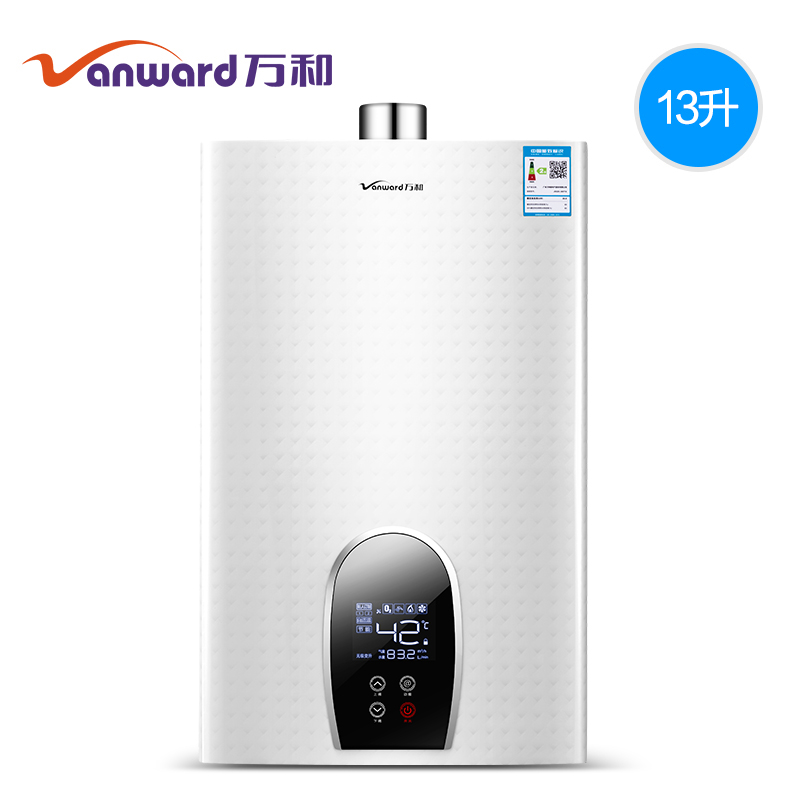 Water Heater JSQ25-365T13 Natural Gas Liquefied Gas Gas Water Heater Electric Household Constant Temperature Strong Row 13L