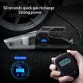 Автомобильный воздушный компрессор, 220 В, 12 В постоянного тока, цифровой пылесос для надувных лодок и автомобилей, автомобильный воздушный н...