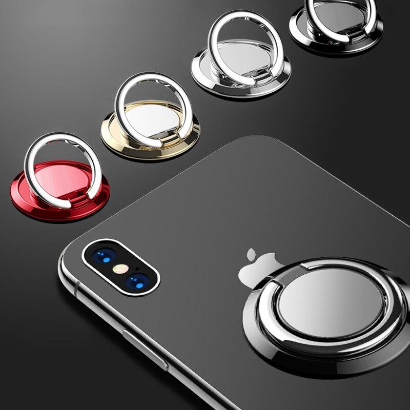 Suporte do telefone móvel anel titular fivela anel ultra-fino carro magnético suporte do telefone móvel