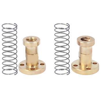 T8 Screw Nut Copper Elimination Gap Elimination Difference Nut Ladder Type Stainless Steel Screw Pitch фото