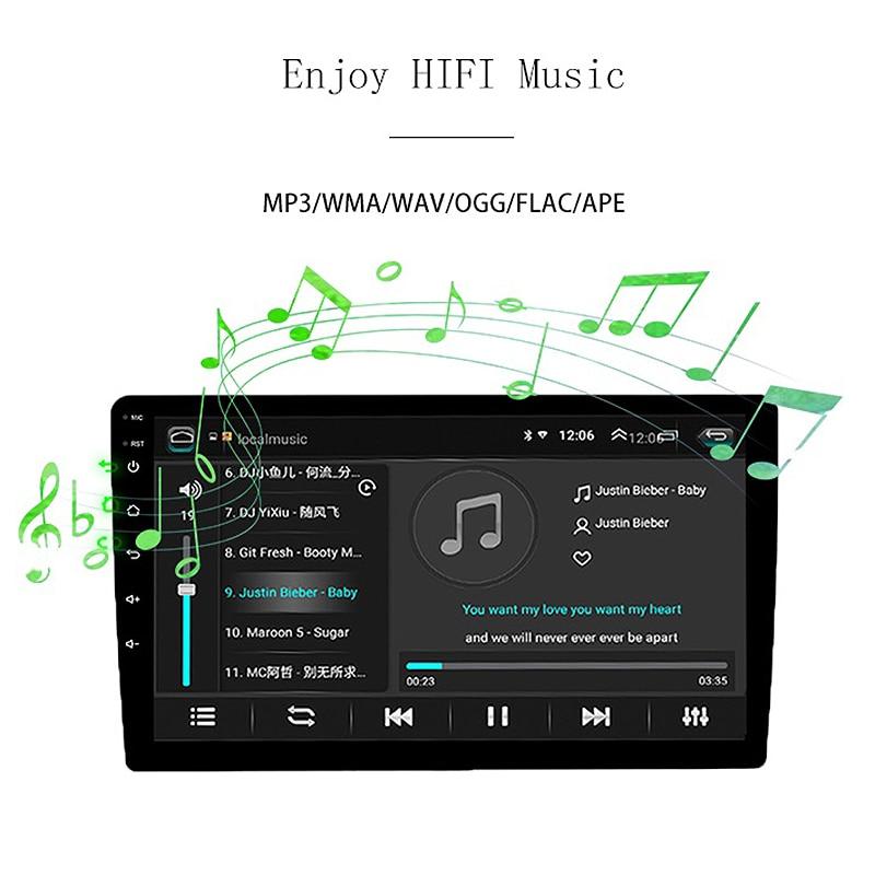 2 din Android 9,0 Восьмиядерный PX6 автомобильный Радио Стерео gps Navi Аудио Видео плеер 4G Wifi BT HDMI Carplay tv OBD DAB + SWC 4G + 32G - 6