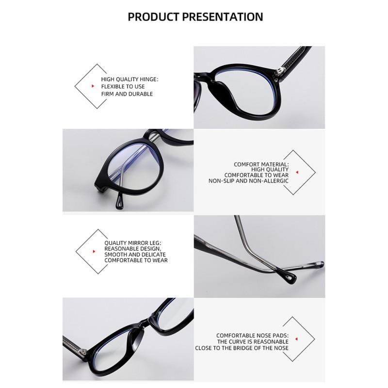 1 шт прозрачные анти голубые лучевые очки для компьютерных игр