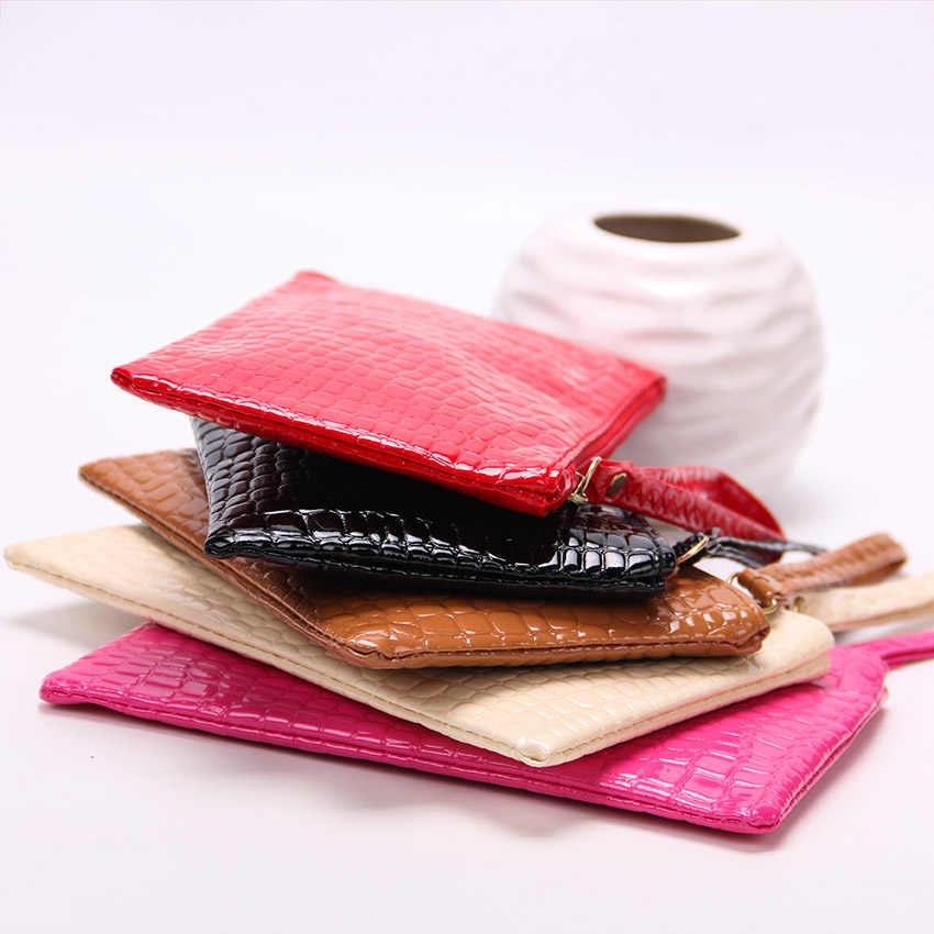 1PC 女性クラッチファスナー財布大容量財布女性財布女性財布電話ポケットカードホルダー Carteras より色