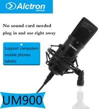 Профессиональный звукозаписывающий микрофон alctron um900 pro
