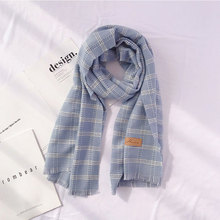 Thickened Luxury Brand Scarves Women Plaid Solid Cashmere Scarf Tassel Love Pattern Pashmina Gift For Lady Echarpe Cape Shawls