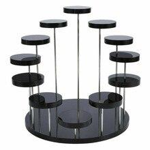 1 * демонстрационная подставка различных типов лотков, модная многослойная акриловая подставка для колец и ювелирных изделий, подвесная дем...