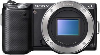 Sony NEX-5N 16.1 MP aynasız dijital kamera dokunmatik ekran-sadece vücut