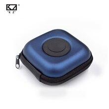 Kz original caso do plutônio saco fone de ouvido acessórios protable caso de absorção choque pressão armazenamento pacote saco com logotipo