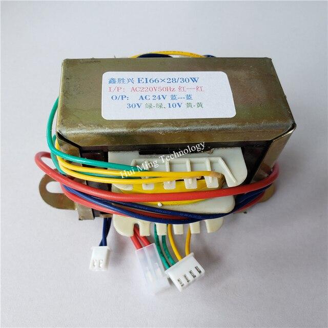 24V 30V 10V Transformer 220V EI66 30VA Transformer 26V 34V 10.6V Hot air gun desoldering station soldering element 898BD 852D+