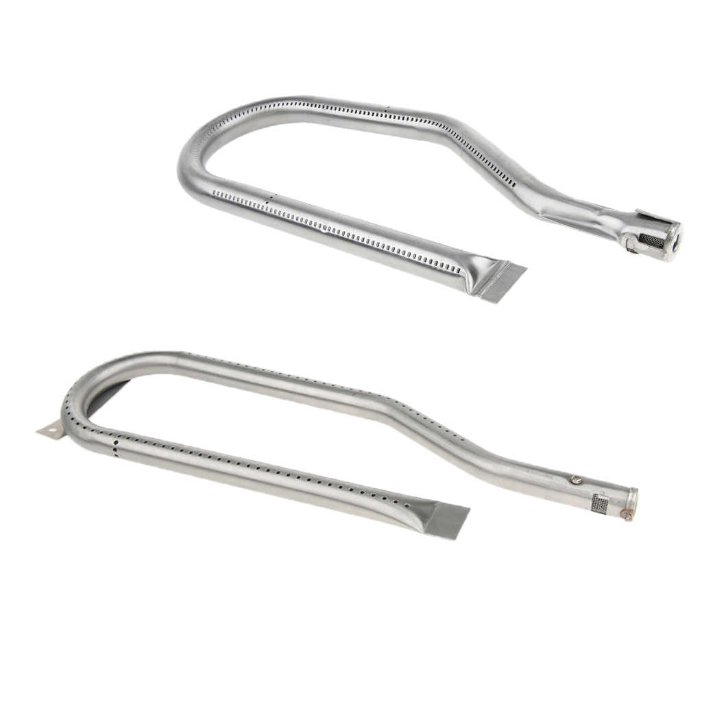 Replacement Steel Gas Grill Burner Camping Stove Cooking Part Tube Pipe  Burner Parts Model Outdoor Tools
