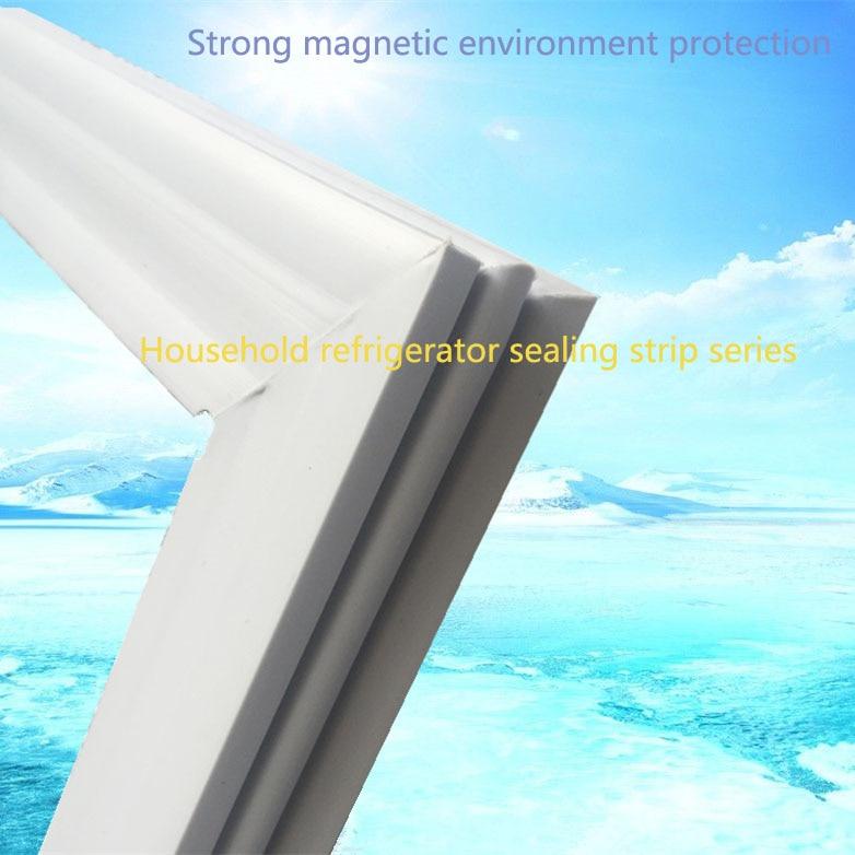 Customize Refrigetator Door Rubber Strip Magnetic Sealing Strip Refrigerator Sealing Ring Freezer Accessories