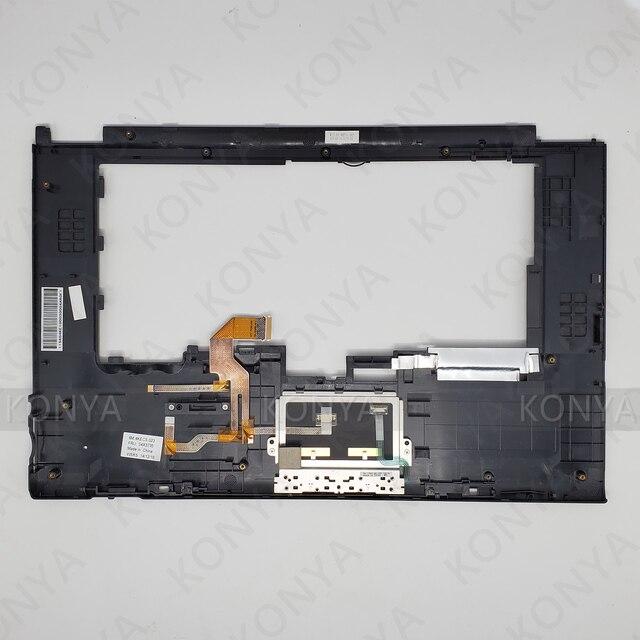 Nowy oryginalny laptop dla Lenovo ThinkPad T520 T520I W520 W520I podpórce pod nadgarstki Touchpad pokrywy skrzynka 04X3735 04X3738