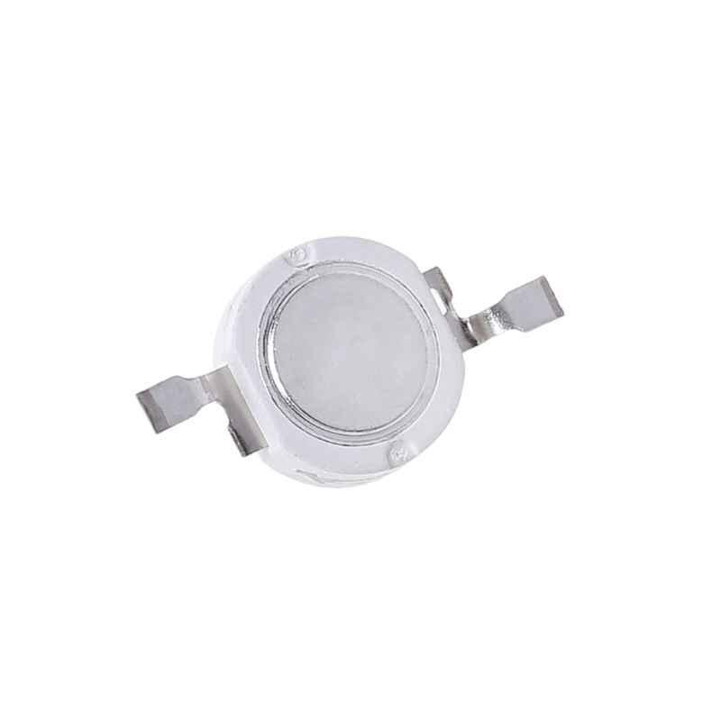 Bombillas LED SMD de gran potencia de 1W con Chip de luz, lámpara de ahorro energético, para DIY, soporte blanco para triangulación de envíos