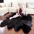 КОРОНА Мягкие искусственные овчинные коврики Для детей Гостиная Спальня Волосатые теплые плюшевые меховые полы мохна