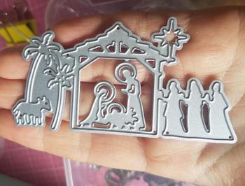 HamyHo nowy projekt matryce do cięcia metalu do szopki dekoracji Album Scrapbooking papieru DIY karty Craft tłoczenie Die Cuts