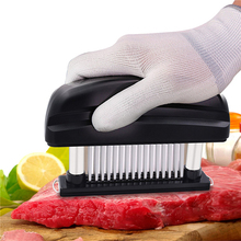 New Cooking Tools 48 Blades Needle Meat Tenderizer Stainless Steel Knife Meat Beaf Steak Mallet Meat Tenderizer Hammer Pounder
