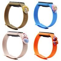 Cinturino per bambola in Silicone morbido per Xiaomi mi band 5 6 cinturino orologio da polso bracciale Sport Mi band 3 4 cinturino Miband 6 accessori