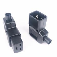 Adapter PDU Power-Connector Rewirable-Socket Female Plug IEC320 16a 250v 90-Degree UPS