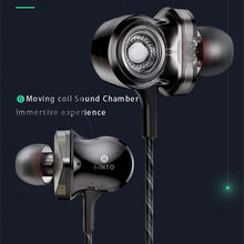 NEW I-INTO i8 Earphone with Mic Wired Controller Headset for OPPO R15 Xiaomi,Huawei,Honor,Smartphone with Storage Box(China)