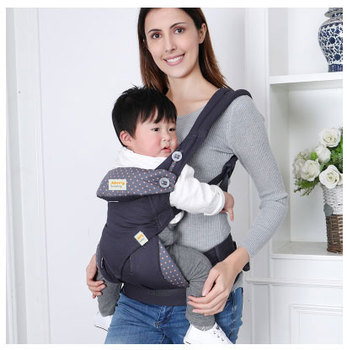 Omni 360 Baby Carrier 0-30 Months Breathable Front Facing Infant Comfortable Sling Backpack Pouch Wrap Baby Kangaroo New carrier 4