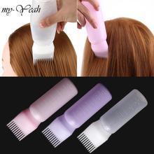 170 мл пластиковая краска для волос, бутылка для шампуня, аппликатор с градуированной щеткой, набор для дозирования, салонные окрашивающие волосы, инструменты для укладки