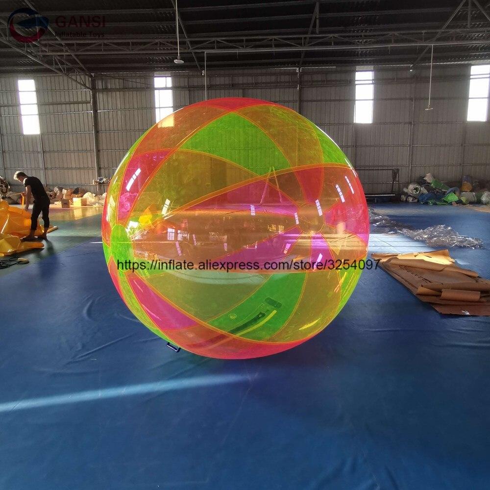 Giocattoli per bambini gonfiabile a piedi sulla sfera di rullo dell'acqua, nuovo disegno di galleggiamento sfera gonfiabile dell'acqua per la vendita