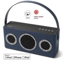 GGMM M4 40 Вт Беспроводной Wi Fi динамик Bluetooth Колонка TWS с сертификатом MFi 16H Портативный HiFi без потерь максимальный бас AirPlay