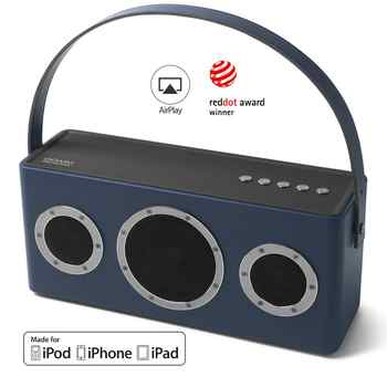 GGMM M4 40W Wireless WiFi Speaker Bluetooth Speaker TWS With MFi Certificated 16H Portable HiFi Lossless Maximum Bass AirPlay