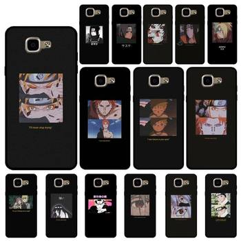 Babaite Anime Naruto Aesthetic Quote Bling Cute Phone Case for Samsung A6 A8 Plus A7 A9 A20 A20S A30 A30S A40 A50 A70 image