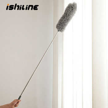 Adjustable Telescopic Bending Duster Brush Car Interior Vent Detailing Dust Removal Household Dusting Cleaning Brush