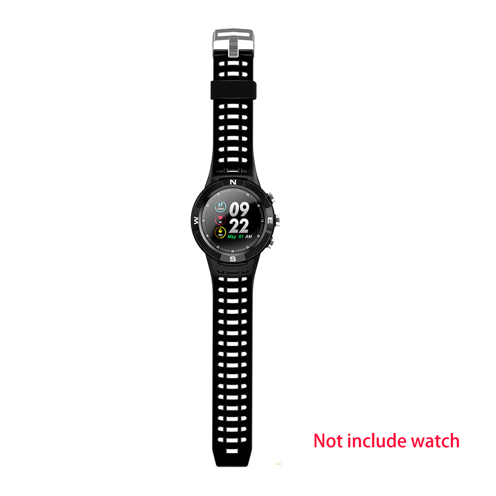 for <font><b>NO.1</b></font> <font><b>F18</b></font> Smart Watch Fitness Original DTNO.1 Replacement Smartwatch Band Strap Silicone Wrist Band Watch Strap High Quality image