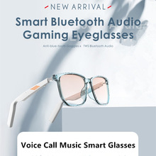 Smart Bluetooth Audio Gaming Brillen stimme rufen Anti-blau polarisierte smart sonnenbrille Wasserdichte AI Bluetooth 5,0 brillen