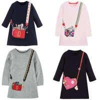 Meninas do bebê vestido de outono princesa traje 2019 marca crianças vestidos de festa para meninas roupas vestido da criança crianças roupas