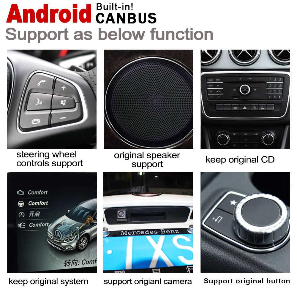 Mecerdes ベンツ E W212 ため 2013 〜 2014 NTG android のカーマルチメディアプレーヤー gps ナビゲーションオリジナルスタイルの hd スクリーン wifi BT マップ