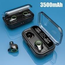 3500mah сенсорный наушник true Беспроводной bluetooth tws50