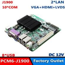 Материнская плата Baytrail серии I/D/M ЦП J1900 ITX с HDMI VGA LVDS LPT RS232/485